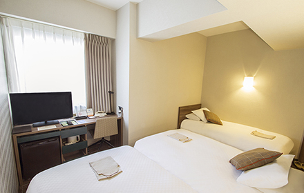 Rooms | Hearton Hotel Osaka Shinsaibashi